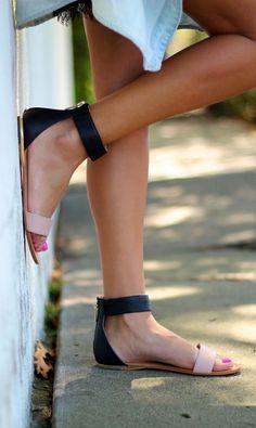 basic leather sandals summer sandals fashion blog style blog australia