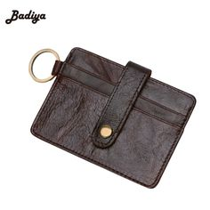 Hot Sale Vintage Fashion Men ID Holders Solid Color Card Holder Pack Card Anti-theft magnetic Card Holder Pack  #Affiliate