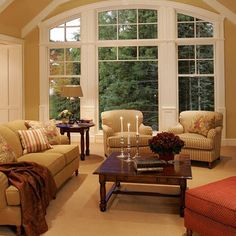 Ben Moore - Powell Buff in North Facing Room. The Best Most Popular Benjamin Moore Paint Colours Living Room White, Living Room Paint, Cozy Living Rooms, New Living Room, Living Spaces, Living Room Decor Colors, Room Paint Colors, Color Walls, Bedroom Colors