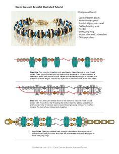 bracelet Crescent beads