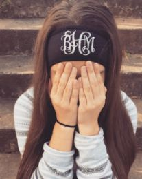 Monogrammed Ear-Warmer Headband