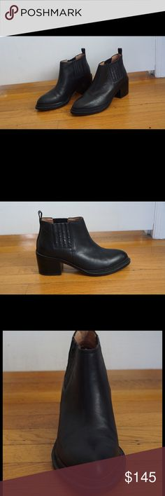 Jeffrey Campbell Eldin Leather Chelsea Boot Worn once. Black Jeffrey Campbell Eldin Leather Chelsea Boot. Size 8 - not sold anymore. Jeffrey Campbell Shoes Ankle Boots & Booties