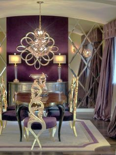 Awesome Dp Charles Neal Purple Gold Dining Room Sx Lg Daily: Awesome Dp Charles Neal Purple Gold Dining Room Sx Lg Daily