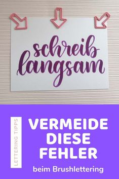 Die 5 grössten Fehler, die Lettering Anfänger machen Avoid these 5 mistakes in brushlettering – Lettering Tips for the 5 most common mistakes beginners make when brushlettering. Improve your lettering with these simple tips and tricks Script Lettering, Calligraphy Letters, Handlettering Abc, Dog Pen, Plastic Letters, Voyage Europe, Lettering Tutorial, Brush Pen, Fonts