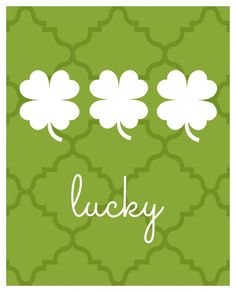 Lucky Printable - Organize and Decorate Everything