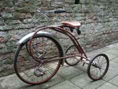 Antique Trike with Rear Steering