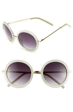 Fantas Eyes Round Sunglasses (Juniors) available at #Nordstrom