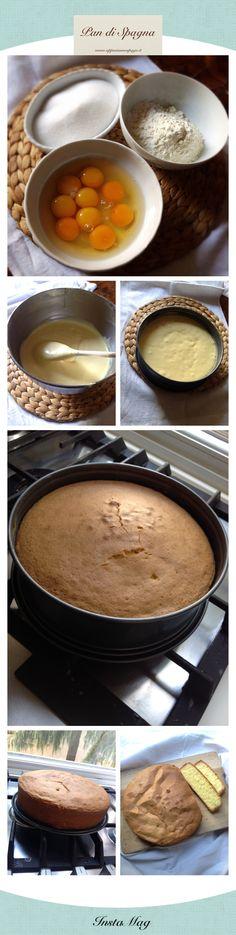 Poche mosse per un soffice Pan di Spagna! Sul blog www.appesiaunospago.it