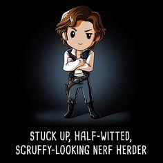 Scruffy-looking Nerf Herder t-shirt Star Wars TeeTurtle