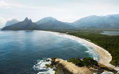 La plage d'Ipanema (rio de Janeiro) avant anthropisation. Source http://g1.globo.com/rio-de-janeiro/rio-450-anos/fotos/2015/02/fotos-veja-imagens-do-antes-e-depois-de-paisagens-do-rio.html