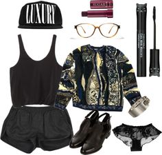 """old school hip hop"" by mymummadeit ❤ liked on Polyvore"