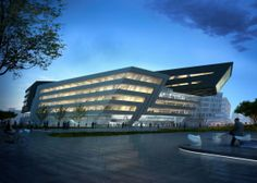 Library & Learning Centre at University of Economics & Business in Vienna Designed by Zaha Hadid Architects