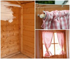 easy curtain rods for playhouse