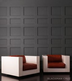 Pair of 'Saratoga' Cube Chairs by Massimo Vignelli For Poltronova