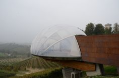 Nice extension at Ceretto winery