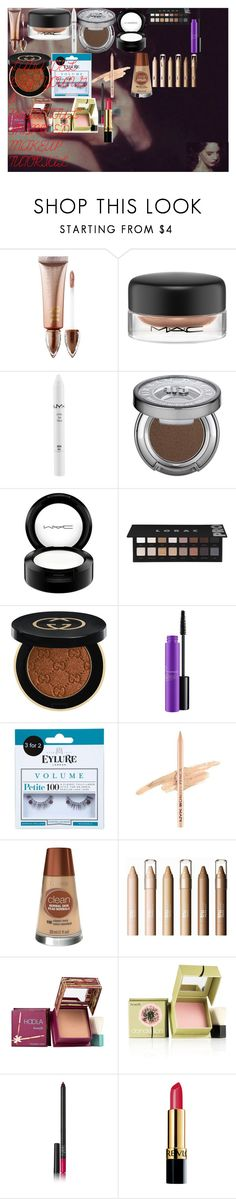 """LANA DEL REY ""YOUNG & BEAUTIFUL"" INSPIRED MAKEUP TUTORIAL"" by oroartye-1 on Polyvore featuring beauty, Gatsby, Urban Decay, MAC Cosmetics, NYX, LORAC, Gucci, Miss Selfridge, Hoola and Benefit"