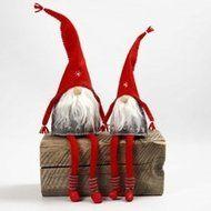 Gratis vilt patroon Kabouters met lange benen