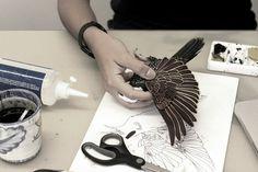 Diana Beltran Herrera paper sculpture