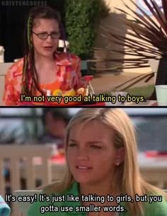 Haha, best quote from Zoey 101 http://ibeebz.com