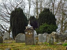 Cemetery in Clonabreany, County Meath, Ireland