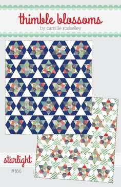 """pattern #166 66"""" x 70"""" quilt Just a note: Turns out a 60 mark on a rectangle ruler and a 60 degree triangle shaped ruler yield different size trian..."""
