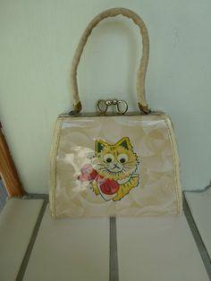 Vtg Childs Handbag from the 1950s.
