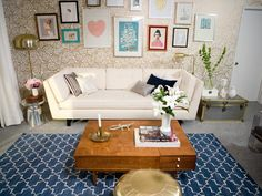 25 Ways to Dress Up Blank Walls : Decorating : Home & Garden Television