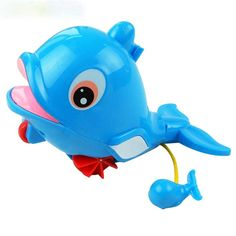 Baby Kids Bath LED Dolphin Light Lamp Lovely Toy Colorful Flashing Changing YC////
