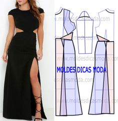 Ideas For Sewing Fashion Diy Dress Form Fashion Sewing, Diy Fashion, Fashion Dresses, Diy Clothing, Sewing Clothes, Remake Clothes, Dress Sewing Patterns, Clothing Patterns, Mode Abaya