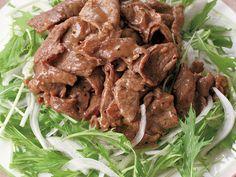 牛こまの焼き肉サラダ