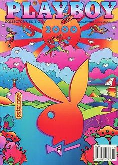 Back Issue January 2000 Playboy Magazine ~ Peter Max Cover ~ Bernaola Twins Collage Mural, Bedroom Wall Collage, Photo Wall Collage, Picture Wall, Wall Mural, Trippy Wallpaper, Retro Wallpaper, Cartoon Wallpaper, Hippie Wallpaper