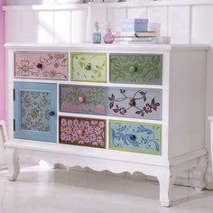 One Funky Furniture Magasin Decopage Furniture, Hand Painted Furniture, Funky Furniture, Refurbished Furniture, Paint Furniture, Upcycled Furniture, Furniture Projects, Furniture Makeover, Furniture Design