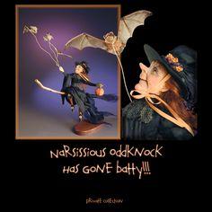 Narsissious Oddknock has gone Batty