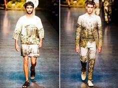Milan Fashion Week Spring 2014 Dolce and Gabbana Men