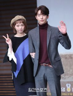 Weightlifting Fairy Kim Bok Joo/Lee Seong Kyeong and Nam Joo Hyuk Korean Actresses, Korean Actors, Actors & Actresses, Swag Couples, Cute Couples, Nam Joo Hyuk Weightlifting Fairy, Nam Joo Hyuk Lee Sung Kyung, Joon Hyung, Kim Book