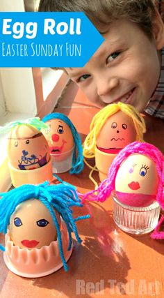 """Easter Egg Roll Activity - Have a go at the GREAT EGG RACE on Easter Sunday. This is a """"quick set up time"""", but super fun activity for ALL the family to enjoy. The kids can't wait to give this Easter Activity another go this year!"""