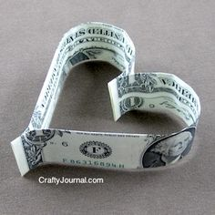 easy-dollar-bill-heart ~ What your teenagers really want on Valentine's Day.
