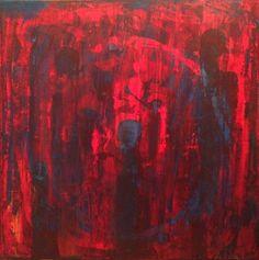 Vernissage in red #Artwork #kunstwerk #painting #modernekunst #malerei #galerie #artist #eventart #diekunstmacher #abstraktekunst #modernart #modernpainting #painter #abstractpainting #galleryart