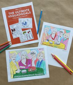 If you want a break from the day to day, print out this awesome Golden Girls printable coloring page.