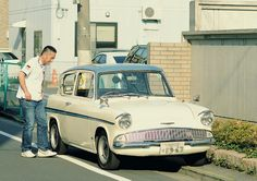 Ford Anglia Super 1966 in Japan.