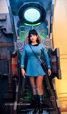 Check out the hottest Trek Cosplays! Star Trek Rpg, Star Trek Ships, Star Wars, Star Trek Uniforms, Star Trek Cosplay, Star Trek Images, Cosplay Costumes, Real Costumes, Fantasy Costumes