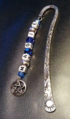 Lesezeichen 23 – Magie – blau - Charming Creations