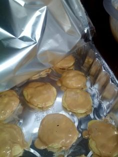 Carmel cake cookies