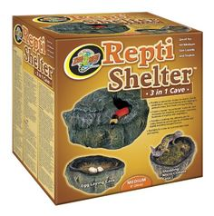 Zoo Med Reptile Shelter 3 in 1 Cave, Medium Zoo Med http://www.amazon.com/dp/B000BNZTAC/ref=cm_sw_r_pi_dp_hHw3ub1KFHEFF