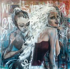 #herakut http://www.widewalls.ch/german-street-artists-herakut-jordan/