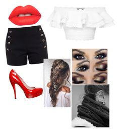 """""""Untitled #27"""" by pufferfishgal on Polyvore featuring Chloé, Alexander McQueen, Gucci and Lime Crime"""
