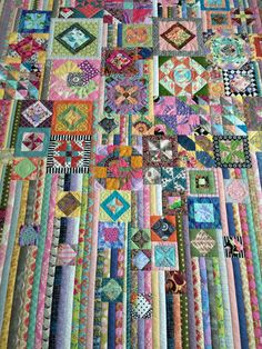 Saving for photo only - logcabins Photo Saving - AmigurumiHouse Sampler Quilts, Scrappy Quilts, Baby Quilts, Quilt Block Patterns, Quilt Blocks, Quilting Projects, Quilting Designs, String Quilts, Colorful Quilts