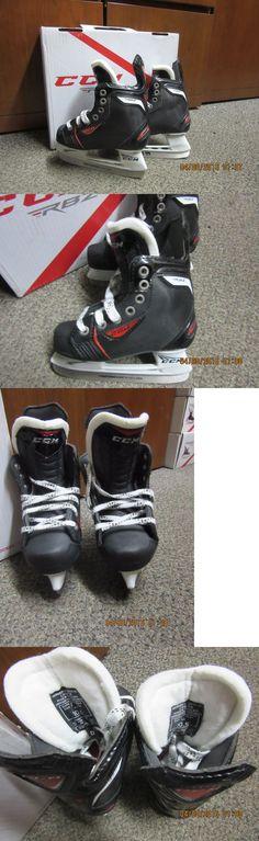 Ice Hockey-Youth 26342: New Ccm Rbz Hockey Skates, Skate Size 10.5, Gender Yt, Width D -> BUY IT NOW ONLY: $79.99 on eBay!