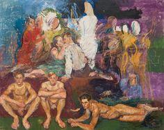 Anton Kolig - 1886-1950 - the painters family c.1833