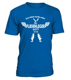 Fliesenleger Gott Anmarsch | Handwerker  #gift #idea #shirt #image #funny #job #new #best #top #hot #legal